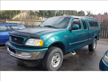 1997 Ford F-150 for sale at Riverside Auto Center in Bonners Ferry ID