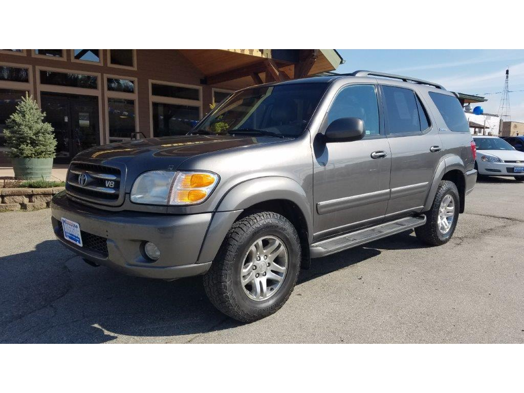 2003 Toyota Sequoia for sale at Riverside Auto Center in Bonners Ferry ID