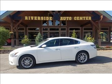 2014 Nissan Maxima for sale at Riverside Auto Center in Bonners Ferry ID