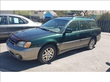 2001 Subaru Outback for sale at Riverside Auto Center in Bonners Ferry ID