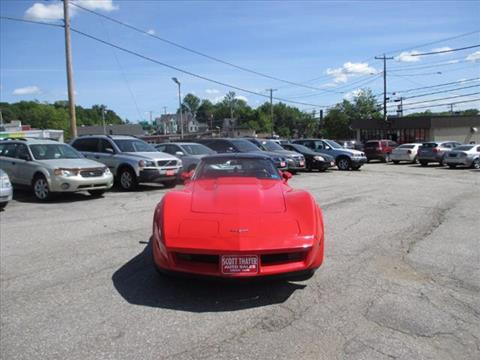 1980 Chevrolet Corvette for sale in Auburn, ME