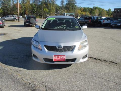2009 Toyota Corolla for sale in Auburn, ME