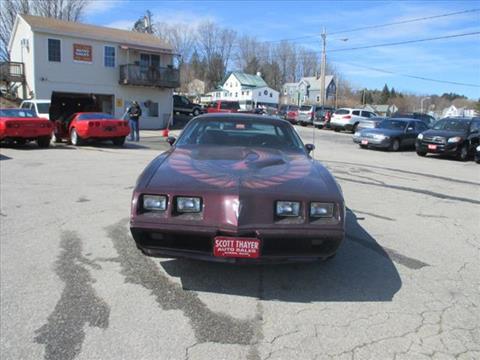 1980 Pontiac Trans Am for sale in Auburn, ME