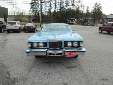 1976 Mercury Cougar for sale in Auburn, ME