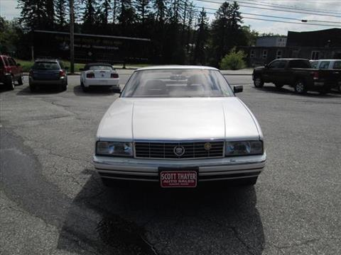 1989 Cadillac Allante for sale in Auburn, ME