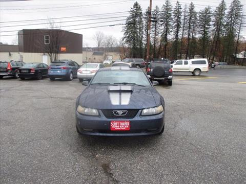 2002 Ford Mustang for sale in Auburn, ME