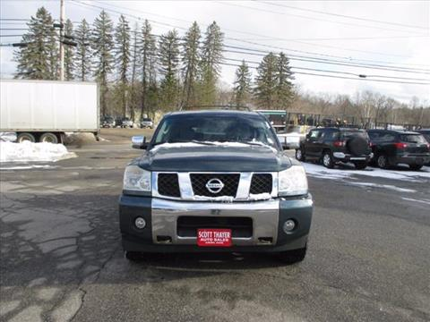 2004 Nissan Armada for sale in Auburn, ME
