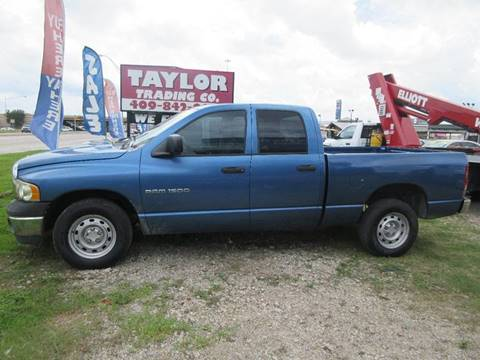 2004 Dodge Ram Pickup 1500 for sale in Beaumont, TX