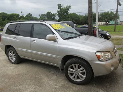 2006 Toyota Highlander Hybrid for sale in Beaumont, TX