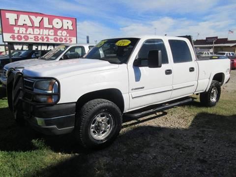 2005 Chevrolet Silverado 2500HD for sale in Beaumont, TX