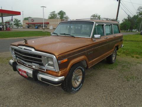 1987 Jeep Grand Wagoneer for sale in Fairfield, IA