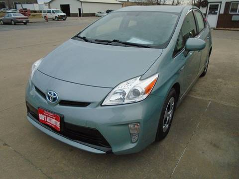 2013 Toyota Prius for sale at BOBS AUTOMOTIVE INC in Fairfield IA