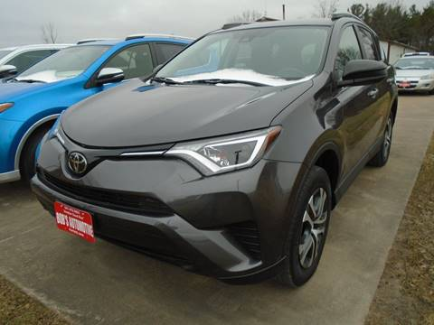 2017 Toyota RAV4 for sale at BOBS AUTOMOTIVE INC in Fairfield IA