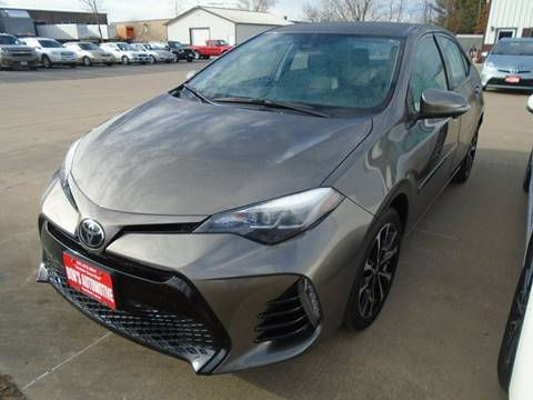 2017 Toyota Corolla for sale at BOBS AUTOMOTIVE INC in Fairfield IA