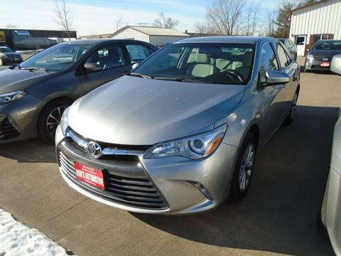 2016 Toyota Camry for sale at BOBS AUTOMOTIVE INC in Fairfield IA