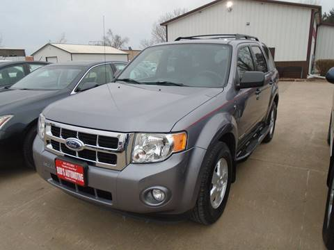 2008 Ford Escape for sale at BOBS AUTOMOTIVE INC in Fairfield IA