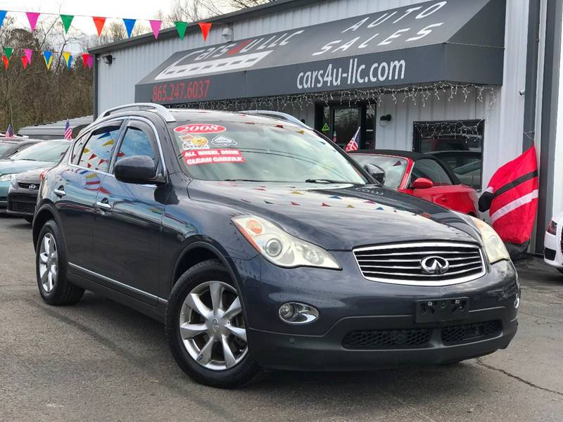 2008 Infiniti EX35 Journey In Knoxville TN - Cars 4 U LLC