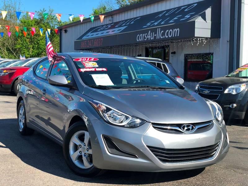 2014 Hyundai Elantra Se In Knoxville Tn Cars 4 U Llc