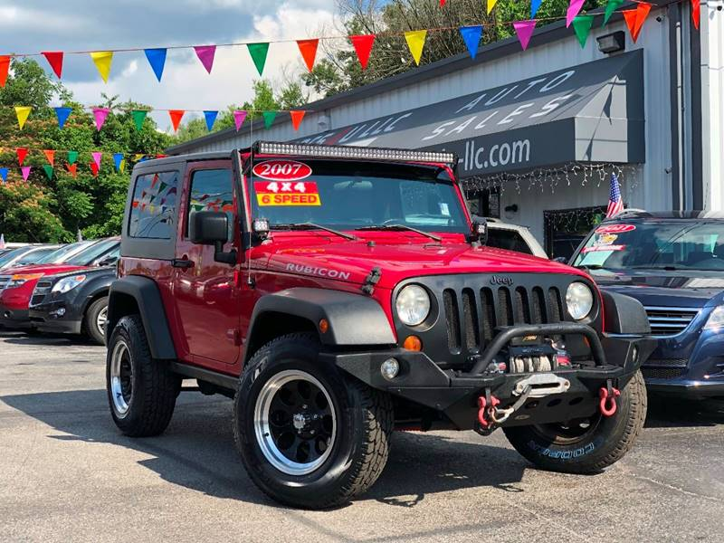 2007 Jeep Wrangler For Sale At Cars 4 U LLC In Knoxville TN