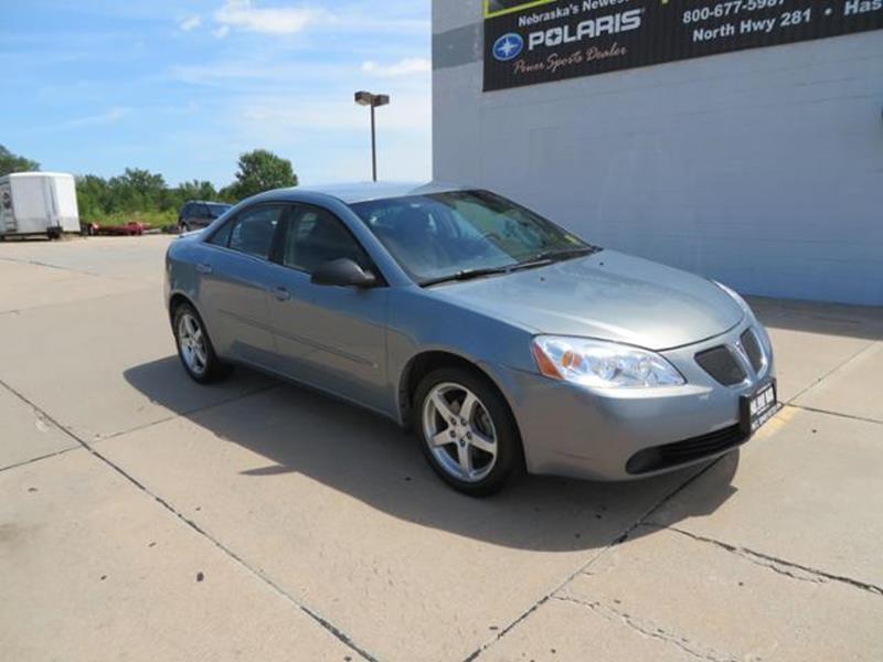 2007 Pontiac G6 4dr Sedan - Hastings NE