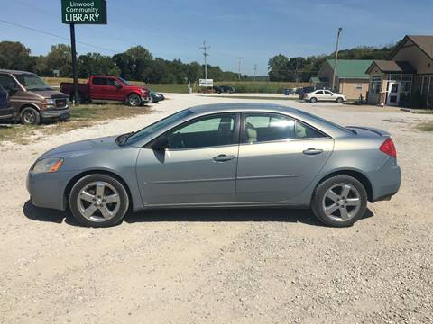 2007 Pontiac G6 for sale in Linwood, KS