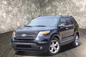 2012 ford explorer for sale in michigan city in - Ford Explorer 2012 Black