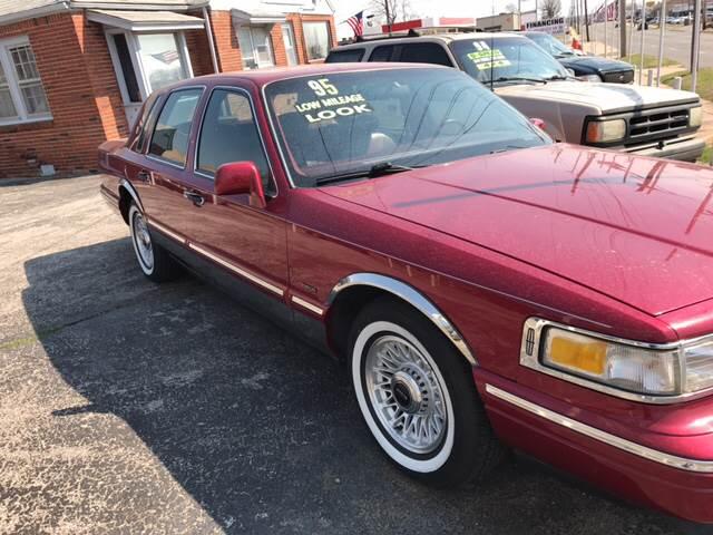 1995 Lincoln Town Car Tulsa Ok Tulsa Oklahoma Sedan Vehicles For