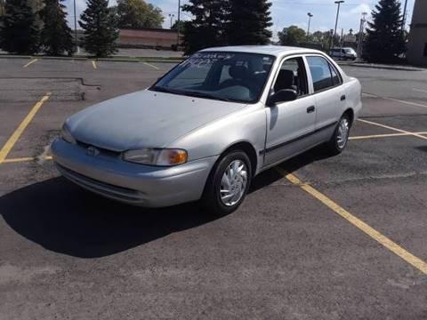 2001 Chevrolet Prizm for sale in Wayne, MI