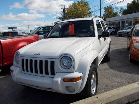 2002 Jeep Liberty for sale in Wayne, MI