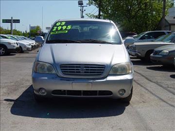 2003 Kia Sedona for sale in Wayne, MI