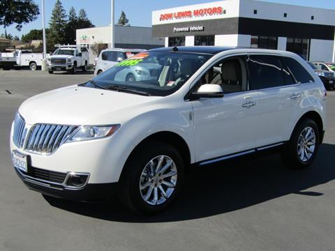 2013 Lincoln MKX for sale in Yuba City, CA
