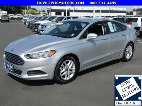2016 Ford Fusion for sale in Yuba City, CA