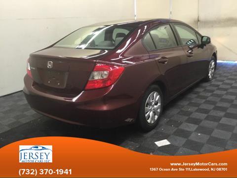 2012 Honda Civic for sale in Lakewood, NJ