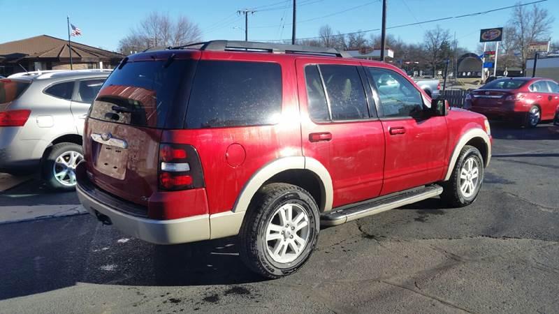2010 Ford Explorer 4x4 Eddie Bauer 4dr SUV - Clay Center KS