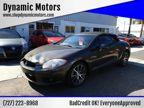 2011 Mitsubishi Eclipse Spyder for sale in Clearwater, FL