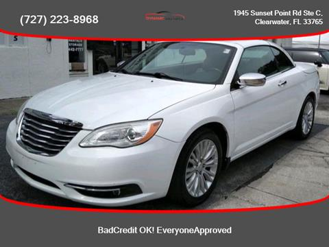 2011 Chrysler 200 Convertible for sale in Clearwater, FL