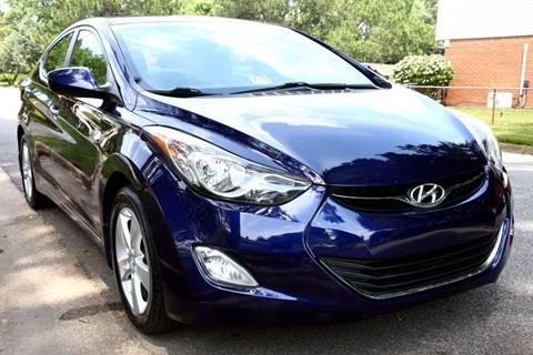 2012 Hyundai Elantra for sale at Prime Auto Sales LLC in Virginia Beach VA