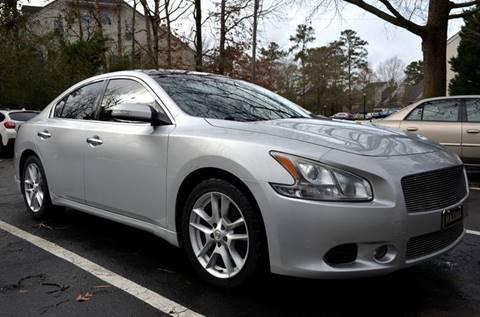 2009 Nissan Maxima for sale at Prime Auto Sales LLC in Virginia Beach VA