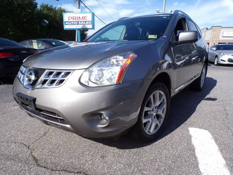 2013 Nissan Rogue for sale at Prime Auto Sales LLC in Virginia Beach VA