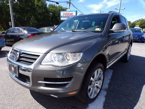 2010 Volkswagen Touareg for sale at Prime Auto Sales LLC in Virginia Beach VA