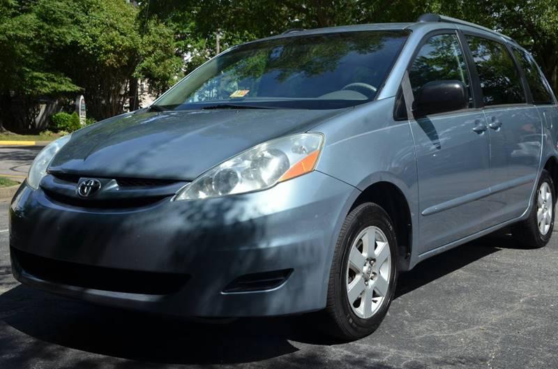 2006 Toyota Sienna for sale at Prime Auto Sales LLC in Virginia Beach VA
