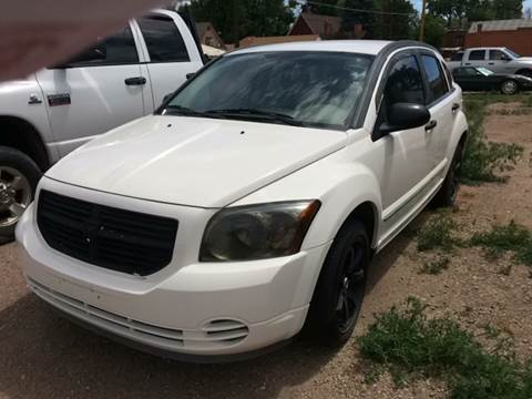 2007 Dodge Caliber for sale at PYRAMID MOTORS AUTO SALES in Florence CO