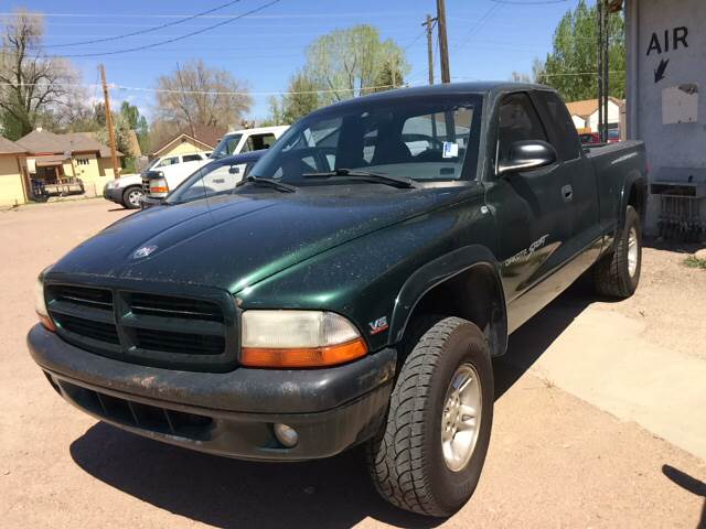 1999 Dodge Dakota for sale at PYRAMID MOTORS AUTO SALES in Florence CO
