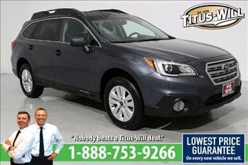 2015 Subaru Outback for sale in Parkland, WA
