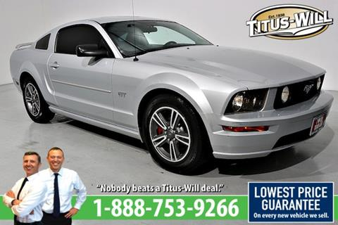 2007 Ford Mustang for sale in Parkland, WA