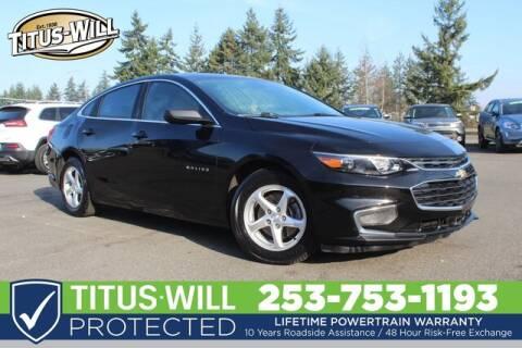 2016 Chevrolet Malibu LS for sale at Titus-Will Chevrolet in Parkland WA