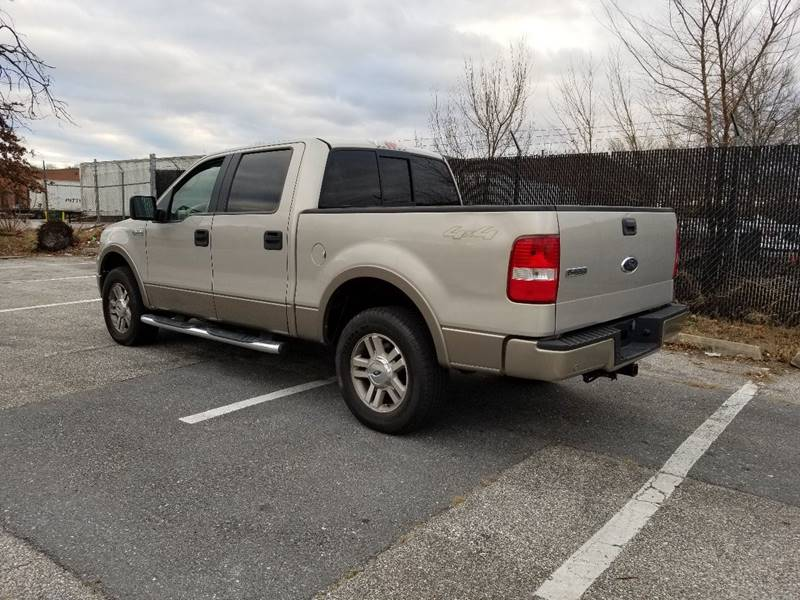 2006 Ford F 150 Lariat 4dr Supercrew 4wd Styleside 5 5 Ft Sb In
