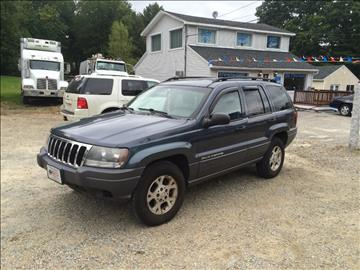 2002 Jeep Grand Cherokee for sale in Charlton, MA