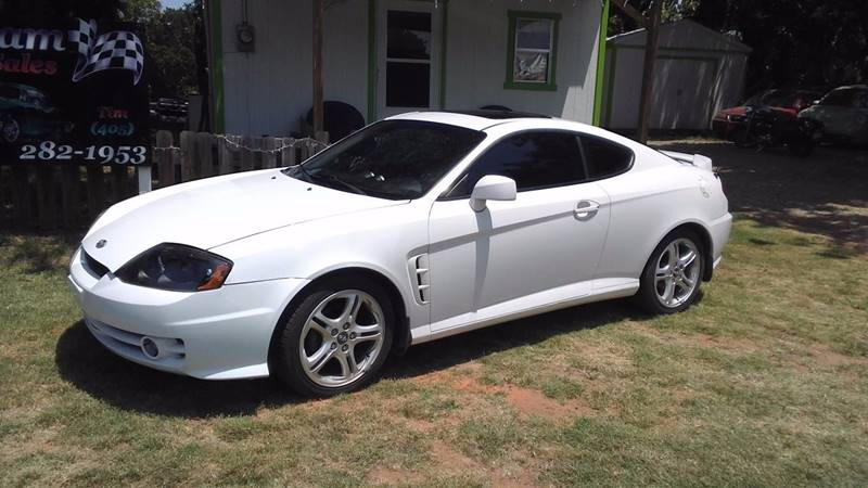 2005 Hyundai Tiburon For Sale At GILLIAM AUTO SALES In Guthrie OK
