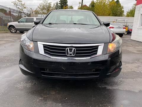 2010 Honda Accord for sale in Detroit, MI